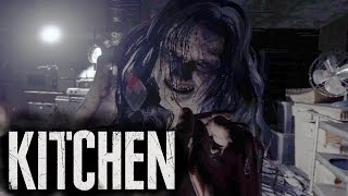 RESIDENT EVIL 7 em Realidade Virtual... KITCHEN! (PlayStation VR Demo Gameplay)
