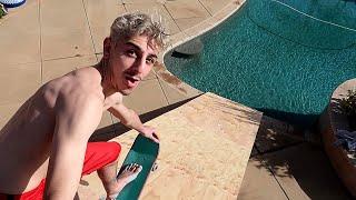 Video WE BUILT A GIANT RAMP FROM OUR ROOF INTO THE POOL!! *insane* | FaZe Rug MP3, 3GP, MP4, WEBM, AVI, FLV Maret 2019