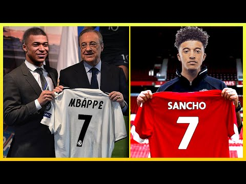 Top 10 TRANSFER TARGETS Summer 2019 ft. MBAPPE & SANCHO