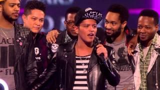 Bruno Mars wins International Male Solo Artist | BRITs Acceptance Speeches