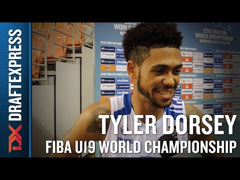 Tyler Dorsey 2015 FIBA U19 World Championship Interview