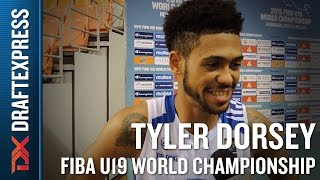 Tyler Dorsey 2015 FIBA U19 World Championship Interview