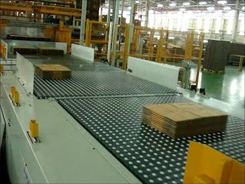 Watch a WSA Fully Automatic Palletizer in action!