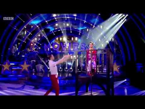 Frankie Bridge & Kevin Clifton – Strictly Come Dancing – 11th october 2014