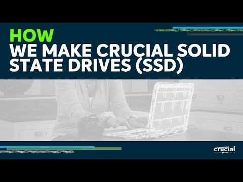 How we make our SSDs