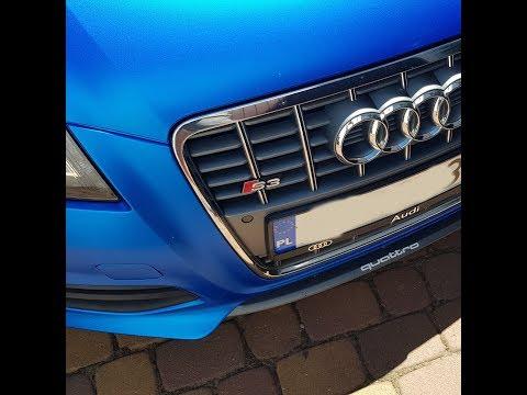 Policja przyczepia się ziomkowi do wydechu w Audi S3. Chyba im się bardzo nudziło