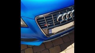 Policja przyczepia się ziomkowi do wydechu w Audi S3. Chyba im się nudziło
