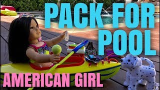 I packed my American Girl for a trip to the pool.♥ Subscribe to my YouTube: http://goo.gl/bLXVcy♥ Chloe Doll T-Shirts http://tinyurl.com/ChloeMerch🎵 Musical.ly: ChloesAmericanGirl♥ Instagram: http://instagram.com/ChloesAmericanGirl♥ Website: http://www.ChloesAmericanGirl.com♥ Address: Chloe's American GirlPO Box 251307Los Angeles, CA 90025Music by Epidemic Sound (http://www.epidemicsound.com)We Got It Covered - Sebastian ForslundAfterglow - Joachim NilssonUp and Down - Ramin