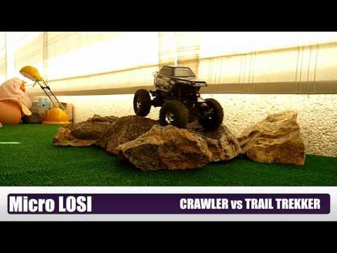 RC ESCAPADES. Micro LOSI. Crawler vs Trail Trekker I