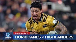 Hurricanes v Highlanders Rd.4 2019 Super rugby video highlights | Super Rugby Video Highlights