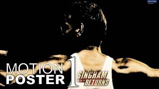Motion Poster 1 - Singham Returns