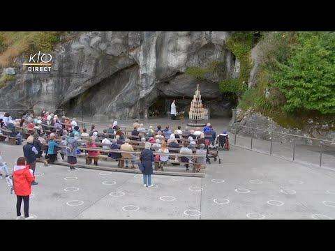 Chapelet du 24 septembre 2020 à Lourdes