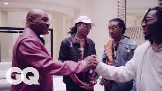 Video Mike Tyson Takes Migos on a Tour of His Mansion | GQ MP3, 3GP, MP4, WEBM, AVI, FLV Oktober 2018