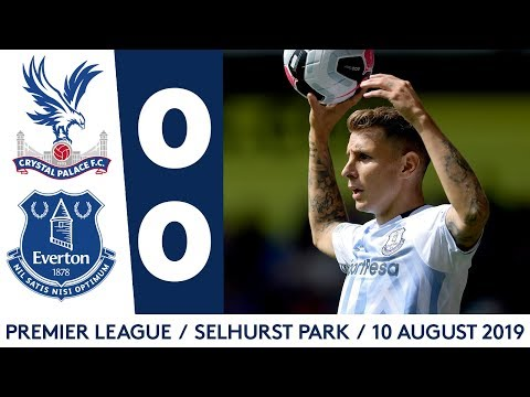 Video: CRYSTAL PALACE 0-0 EVERTON | 2-MINUTE PREMIER LEAGUE HIGHLIGHTS