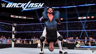 WWE 2K16 Backlash 2016 Dean Ambrose vs AJ Styles | Prediction Highlights