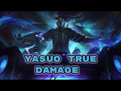 SKIN YASUO TRUE DAMAGE - GUERREIROS DO  NEXUS
