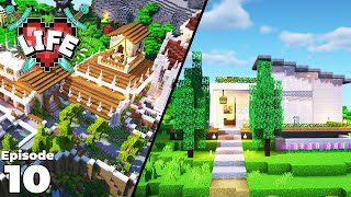 X Life : Ep 10 : fWhip, Smallishbeans & Jimmy's Build Shop! Minecraft Survival Let's Play