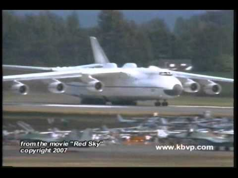 The incredible Antonov AN-225 is...