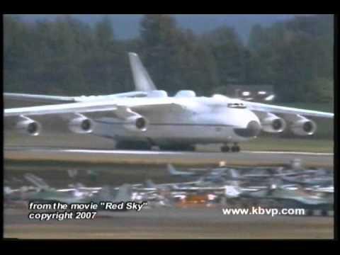 The incredible Antonov AN-225 is...