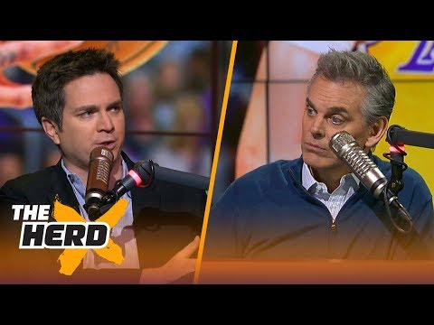 Chris Mannix talks Lonzo's jump shot, the Cavs' top priority for the next month | THE HERD