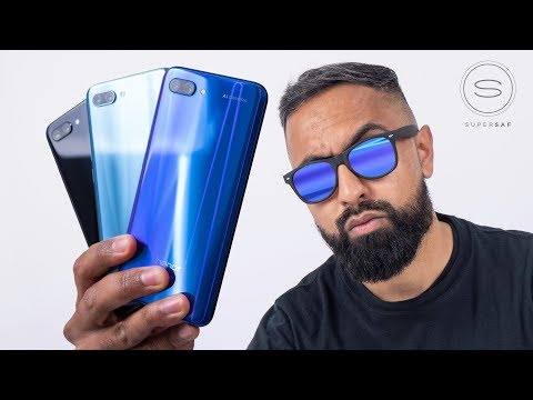 Honor 10 UNBOXING - Colorful Stylish and Affordable