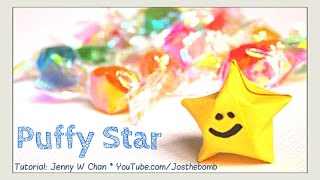 Origami Star - Paper Stars Tutorial - How to Fold Origami Stars - Lucky Stars - EASY - YouTube