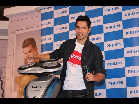 Varun Dhawan As Brand Ambassador For Philips India Shaving Category