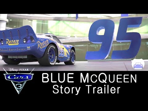 CARS 4 Trailer | Blue Lightning McQueen tale | Cars 3 Edited Review