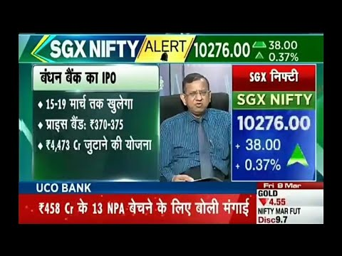 BANDHAN BANK IPO & BHARAT DYNAMICS LIMITED IPO REVIEWS BY S P TULSIAN'S. 11 MARCH 2018.