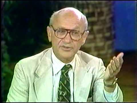milton friedman - Milton Friedman on Donahue. This is where the famous