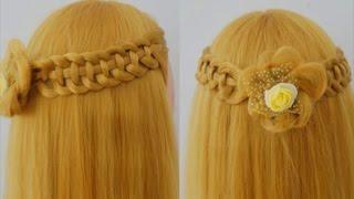 ถักเปียสวยๆ : Cute and Easy Braid [Ep.71] #hair - HowTo: สอนทำทรงผมรับปริญญาแบบง่ายๆ ด้วยตัวเอง #3