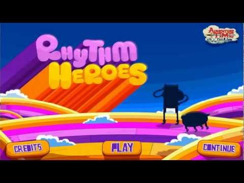 Cartoonnetwork.com Computer Games -- Adventure Time Rhythm Heroes