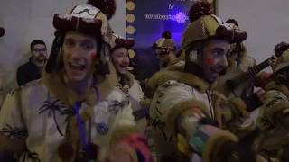 AMAZING Street Performers singing Spanish potpourri -  Malaga Carnival, Spain
