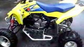 10. SUZUKI 2006 LTR 450R YELLOW