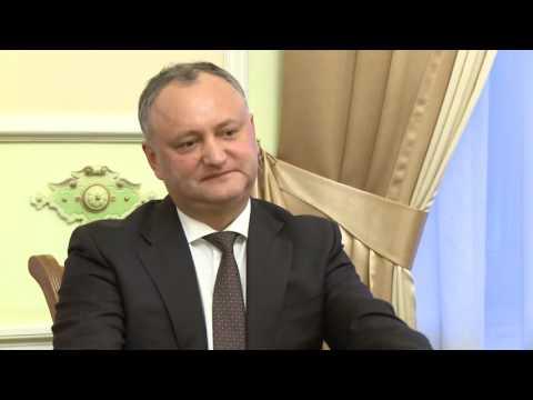 Președintele Republicii Moldova s-a întîlnit cu ambasadorul azer Gudsi Dursun oglu Osmanov