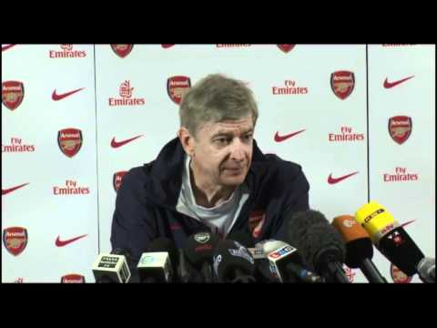 lewi2843 - Arsenal Manager Arsene Wenger answers questions on reports that Lukas Podolski will soon become an Arsenal player and also talks about top goal scorer Robin ...