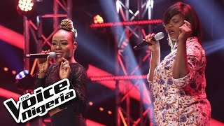 Sylvia Charles vs Elizabeth singing 'Lady Marmalade' / The Voice Nigeria 2016