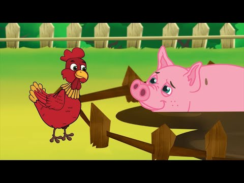 The Little Red Hen | Bedtime Stories for Kids in English | Storytime
