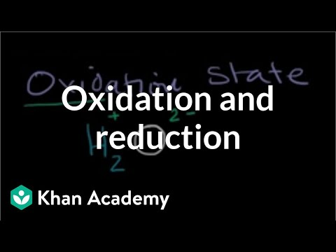 Oxidation And Reduction Video Khan Academy