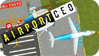 AIRPORT CEO Gameplay - OFFICES FOR THE BOARD! Alpha Simulator/Strategy/Tycoon/Management #3