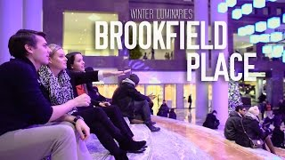 WINTER LUMINARIES AT BROOKFIELD PLACE