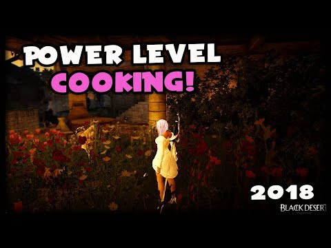 Recipe For Power Leveling To Master And Guru Cooking | Black Desert Online