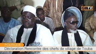 Serigne Cheikh Bara Maty Léye réaffirme le soutien du Khalif Général des Mourides à Cheikh Abdou Ahad Mbacké Gaindé...