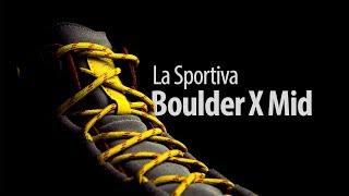Кроссовки для подходов и хайкинга La Sportiva Boulder X Mid GTX