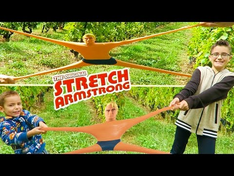 JOUET - STRETCH ARMSTRONG L'original - The Original Stretch Armstrong Action Figure