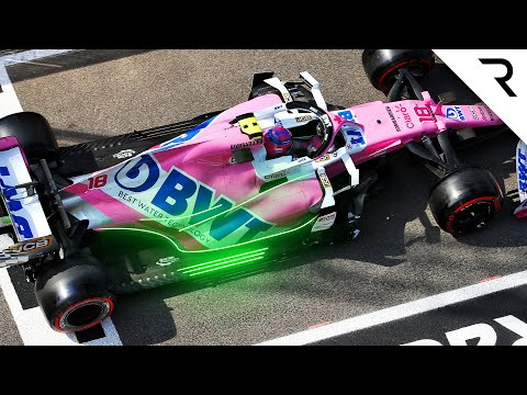 How Racing Point is moving away from its Pink Mercedes F1 design