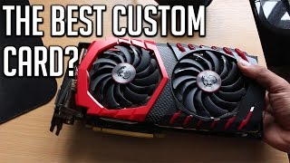 In my first in-depth review, I take a look at the MSI Gaming X 8G GTX 1070. Considering its aesthetics, features, performance, noise, reliability, pricing and overclocking potential this is one heck of a card to get!Get the MSI 1070 here (UK): http://bit.do/MSI1070Tired of cheaters and MM? Play on 128 tick servers on ESEA: http://play.esea.net/subscribe/?r=697460Send me your demos: http://goo.gl/forms/cDi8fwxQbaUse My Ref-Link to get some awesome games! (Use Promo Code 'armytricks' for 5% off)https://www.g2a.com/r/armytricksofficialFeeling even more generous? Give me a monthly contribution!http://www.patreon.com/armytricks▬▬▬▬▬▬▬▬▬▬▬▬▬▬▬▬▬▬▬▬▬▬▬▬▬▬▬▬▬▬▬▬▬Donate Steam Items: http://full.sc/UR8Q4jDonate Real Money: http://www.patreon.com/armytricksG2A Ref-Link: https://www.g2a.com/r/armytricksofficial▬▬▬▬▬▬▬▬▬▬▬▬▬▬▬▬▬▬▬▬▬▬▬▬▬▬▬▬▬▬▬▬▬Follow Me:Twitter: http://goo.gl/xcEh1fSubscribe: http://goo.gl/9f6VNGTwitch: http://twitch.tv/armytricks▬▬▬▬▬▬▬▬▬▬▬▬▬▬▬▬▬▬▬▬▬▬▬▬▬▬▬▬▬▬▬▬▬Console Footage: AverMedia ExtremeCap U3Computer Footage: Nvidia Shadowplay/FrapsCamera Footage: Canon 700D DSLR CameraRender Software: Sony Vegas Pro 13/Adobe Premiere Pro CC 2015Current Phone: OnePlus TwoComputer: Proudly Built By Me                - Proccessor: AMD FX8320 OC @ 4.3GHz                - Graphics: Nvidia Geforce GTX 750Ti                - RAM: 8GB DDR3 Kingston HyperX Beast                - HDD: Seagate 1.5TB Hard Drive                - SSD: Crucial 256GB Solid State DriveThanks for Watching, and I'll see you next time!