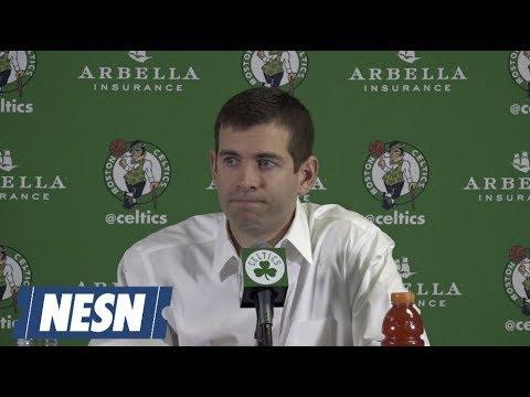 Video: Brad Stevens Celtics vs. Hawks Postgame Press Conference 12/14