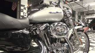 10. 2005 Harley Davidson Sportster XL1200C | Silver