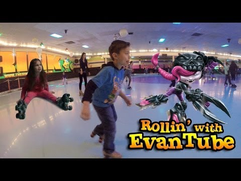 evantubehd's - Today the family is heading over to the roller rink to get our weekend workout. It was a little too chilly outside to ride bikes and go to park, so we though...